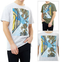 Mens Brave Soul Designer Crew Neck T-Shirt Casual Short Sleeve Summer Tee Top