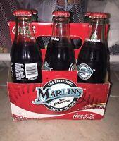 Coke Coca-Cola 6-pack MLB Baseball Florida Marlins 2003 World Series Champions