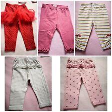 Mamas & Papas George Baby Girl leggings bundle set size 6-9 months
