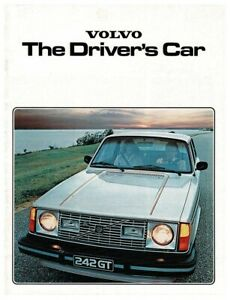 1979 Volvo Cars brochure 240 and 260 series