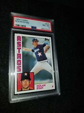 1984 Topps Nolan Ryan PSA 8 MINT #470 Houston Astros 🔥 HOF ⚾️