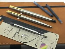 Parker 45 Flighter Fountain Pen & Ballpoint Set - Restored