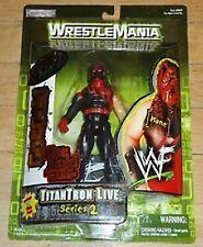 Kane WWF action figure Wrestlemania 2000 JAKKS Pacific NIB Titantron