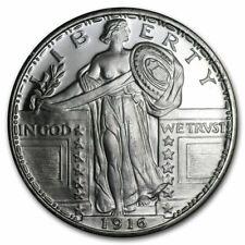 1 oz .999 Silver Round - Standing Liberty Design - Brilliant Uncirculated