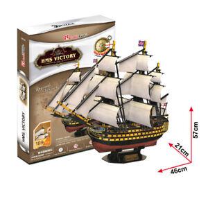 Cubic Fun - 3D Puzzle Hms Victory Ship England