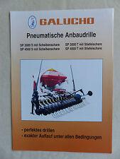 Galucho Pneumatische Anbaudrille SP 3000 - Prospekt Brochure (0848
