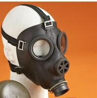 Authentic Swiss Nato Gas Mask Respirator New/Old Stock 40mm Protection Sz Medium