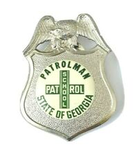 Obsolete Defunct State Of Georgia School Badge