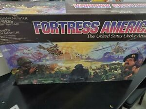 Vintage Fortress America Board Game 1986 Gamemaster Series 100% COMPLETE
