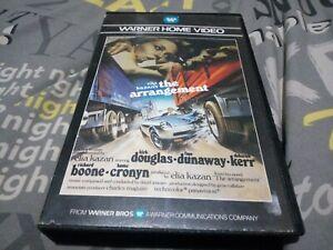 The Arrangement VHS big box warner. Faye dunaway, kirk Douglas pre cert.