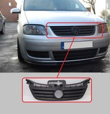 VW TOURAN 2003-2006 CADDY 2004-2011 CENTER MAIN FRONT RADIATOR GRILLE BLACK