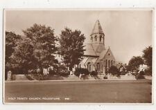 Holy Trinity Church Folkestone Kent England Vintage Rppc Postcard Us051
