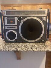 JVC RC-550JW   FM/AM Shortwave Cassette Radio Boombox