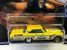 HOT WHEELS 2019 CAR CULTURE DRAG STRIP DEMONS 65 DODGE CORONET #3/5