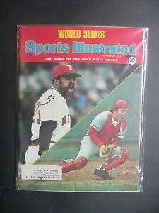 Sports Illustrated October 20, 1975 Tiant Red Sox Bench Reds Nicklaus Oct '75 C