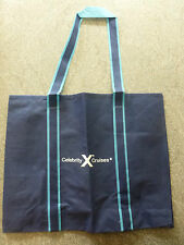 CELEBRITY CRUISES LIGHTWEIGHT SHOPPING BAG WITH COMPANY LOGO