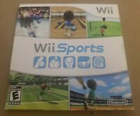 Wii Sports - Nintendo Wii - TESTED COMPLETE w/ Disc, Sleeve, Manual! WS2