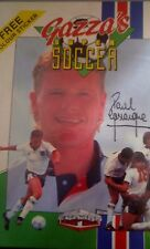 Gazzas Super Soccer Spectrum 48k/128k (Tape) (Game, Verpackung, Manual, Sticke)
