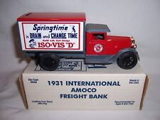 AMOCO/STANDARD OIL 1931 International Freight Bank by ERT Original Box w/Papers
