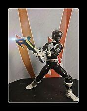 Power Rangers Lightning Collection Mighty Morphin Black Ranger Custom