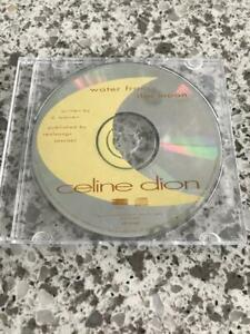 Celine Dion; Water From the Moon; Promo; Not For sale; CD Single; 1993; Rare