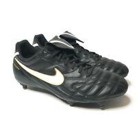 Nike Tiempo Legend Mystic III SG Men's Football Boots Black Leather UK Size 9.5