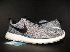 NIKE ROSHE RUN ROSHERUN GPX PREMIUM GEOMETRIC SUMMIT WHITE BLACK GREY 631751-100
