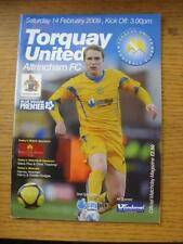 Non-League Home Teams S-Z Torquay United Football Programmes