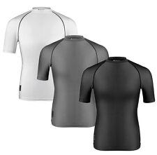 Aero Tech Short Sleeve Spandex Compression T-Shirt - Base Layer Lycra UPF 50+