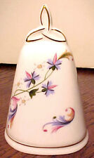 Gorgeous Danbury Mint Royal Tara Hall Floral Bell Made In Ireland, Mint