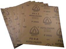 Wasserschleifpapier 10 x  P1000  Autolack 230x280mm Schleifpapier Klingspor