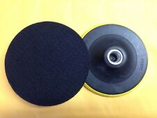 "125MM  backing pad polishing Pad for Angle Grinders with Standard 5/8"" Thread"