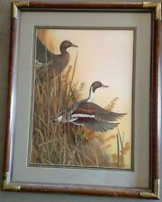"Duck's Unlimited print ""Rising of the Marsh"""