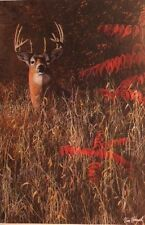 Jim Hansel Deer Print  KEEPING THE WATCH