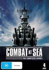 Combat At Sea - The Complete Series (DVD, 2011, 4-Disc Set) New  Region 4