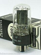 "1950's RCA 12SN7-GTA 5-HOLE BLACK-PLATE ""MEDIUM-BOTTLE"" SINGLE USA Tube NOS NIB!"