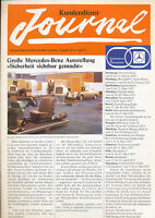2256MB Mercedes Kundendienst Journal 1973 1/73 Prospekt deutsch brochure