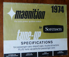 Sorensen Magnition Tune-Up Specifications Manual