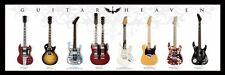 Poster Guitar Heaven Paradiso Chitarre SLIM 91,5x30,5 cm TIPO B