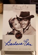 Elvis Presley 2007 Press Pass BARBARA EDEN Flaming Star Certified Autograph