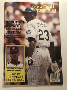 1994 Baseball America CHICAGO WHITE Sox MICHAEL JODAN EX Large Sized ROOKIE