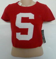Womens AEROPOSTALE Pretty Little Liars S Cropped Sweater NWT #8175-1