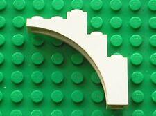 LEGO White arch 2339 / set 10189 6286 6290 6267 6276 6289 7412 6379 6355...