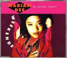 Mariam Dee & Latino Party - Week Ends - CDM - 1991 - Eurohouse 4TR Fairstein