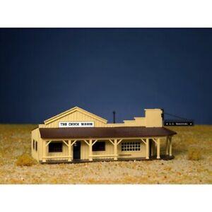 Bachmann 45161 HO Scale Marshall's Office and Restaurant Snap KIT