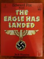The Eagle Has Landed Jack Higgins Read By Edward Fox - Rare Tape Audiobook 1979