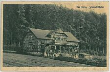 Ansichtskarte  VINTAGE POSTCARD: GERMANY -   Bad Berka