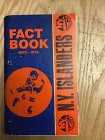1973/74 New York Islanders Fact Book