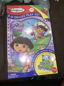 3-D Dora The Explorer Colorforms