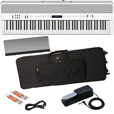 ROLAND FP-90 DIGITAL PIANO - WHITE KEY ESSENTIALS BUNDLE